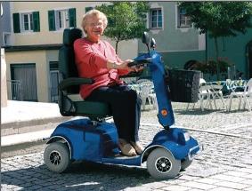 爱司米老人代步车